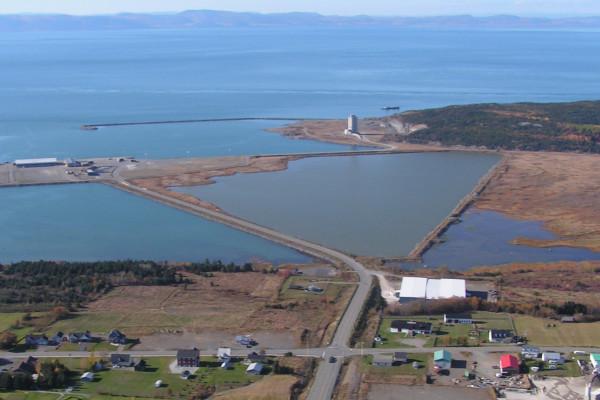 Port de Cacouna et protection de l'estuaire