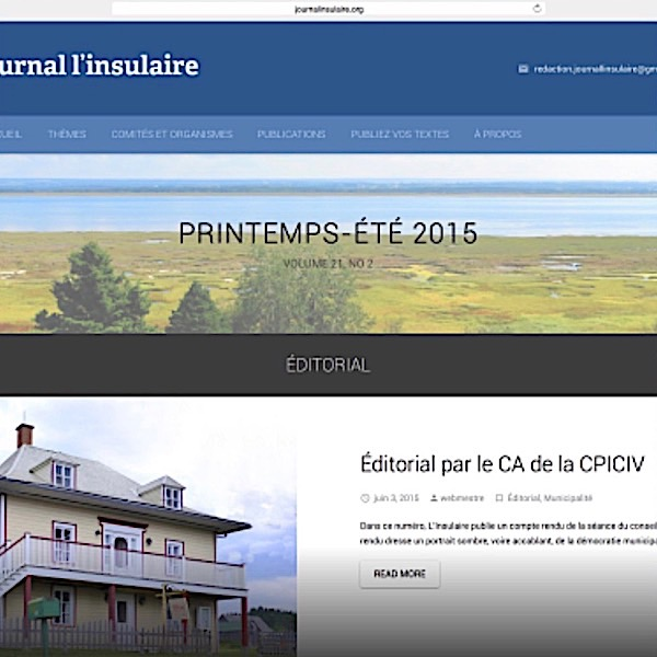 Journal l'insulaire