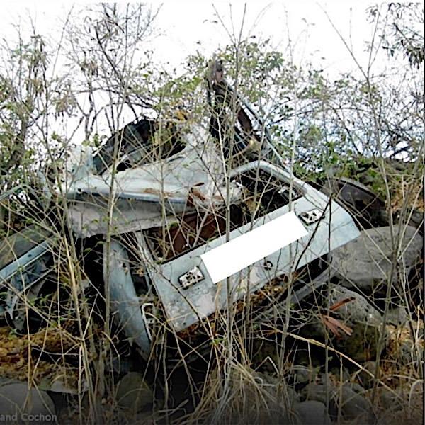 Récupération de vieilles voitures
