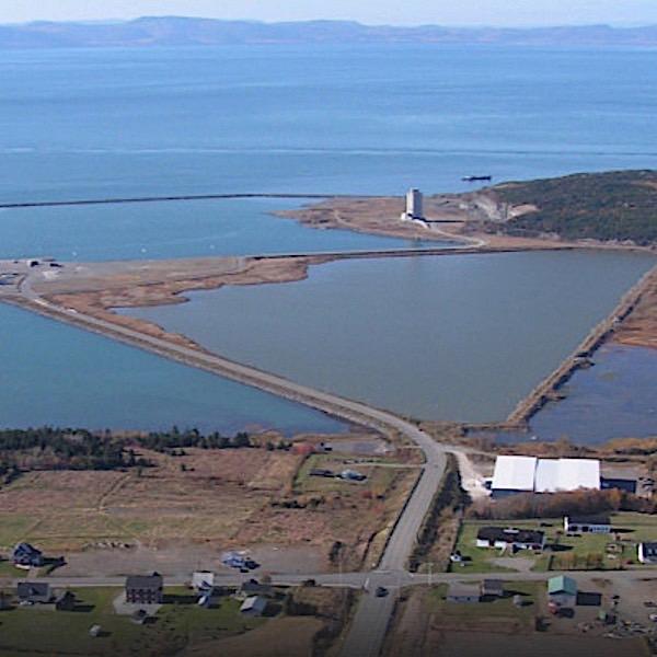 Port de Cacouna et protection de l'estuaireg